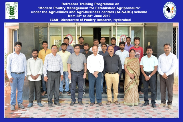 Training on Modern Poultry Management